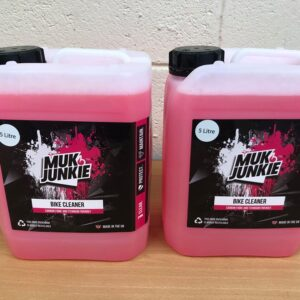 muk junkie 2 x 5 litre off road cleaner