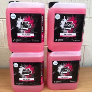 muk junkie 4 x 5 litre off road cleaner