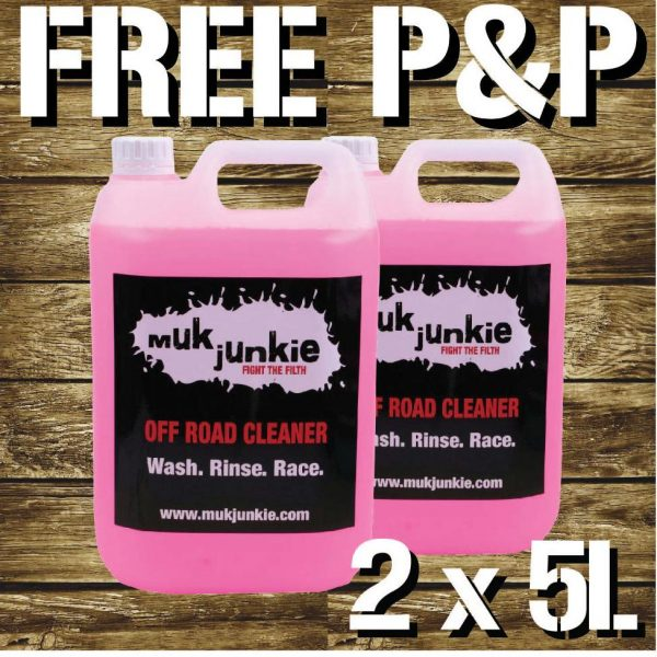 2 x 5 litre Off Road Cleaner inc free* P & P