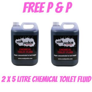 Special Offer - 2 x 5 litre Chemical Toilet Fluid including free* P & P