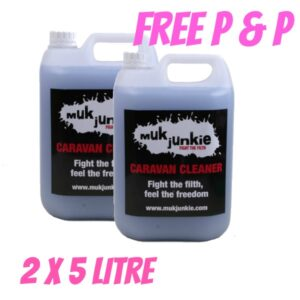 Special Offer – 2 x 5L Caravan & Motorhome Cleaner FREE* P&P
