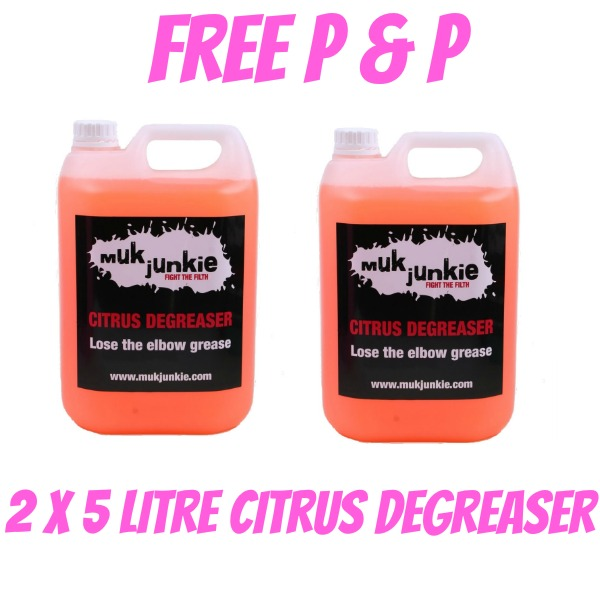 Special Offer - 2 x 5 litre Citrus Degreaser including free* P & P