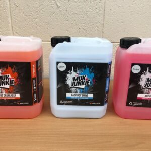 muk junkie 5 litre citrus lazy boy off road cleaner